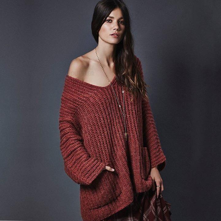 Υπέροχο πουλόβερ!