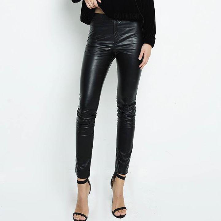 Από τα πιο όμορφα παντελόνια από δερματίνη!