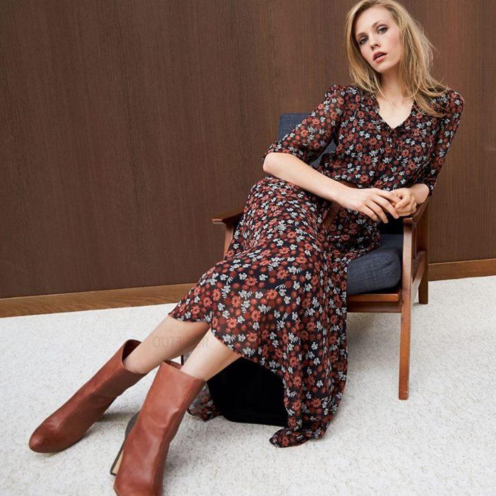 Maxi floral φόρεμα!