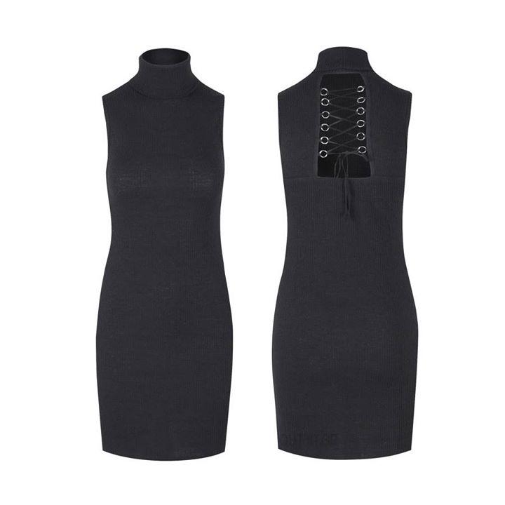 Πλεκτό φόρεμα με ιδιαίτερο σχέδιο στην πλάτη!