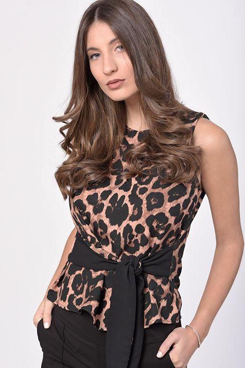 Leopard top!