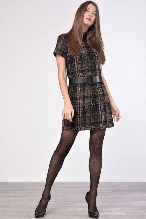 Καρό mini φόρεμα!