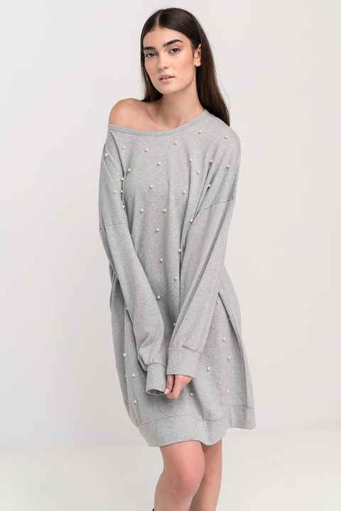 Mini φόρεμα με πέρλες!
