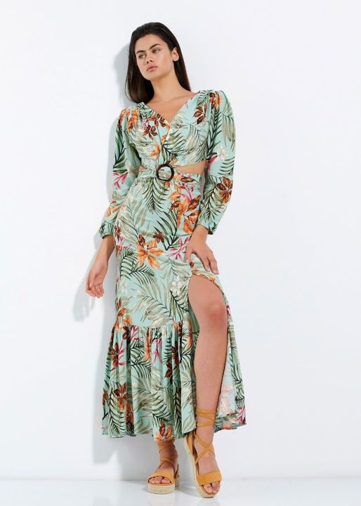 Cut out maxi φόρεμα!