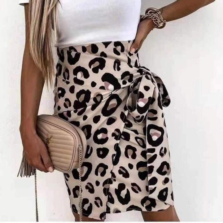 Leopard φούστα!