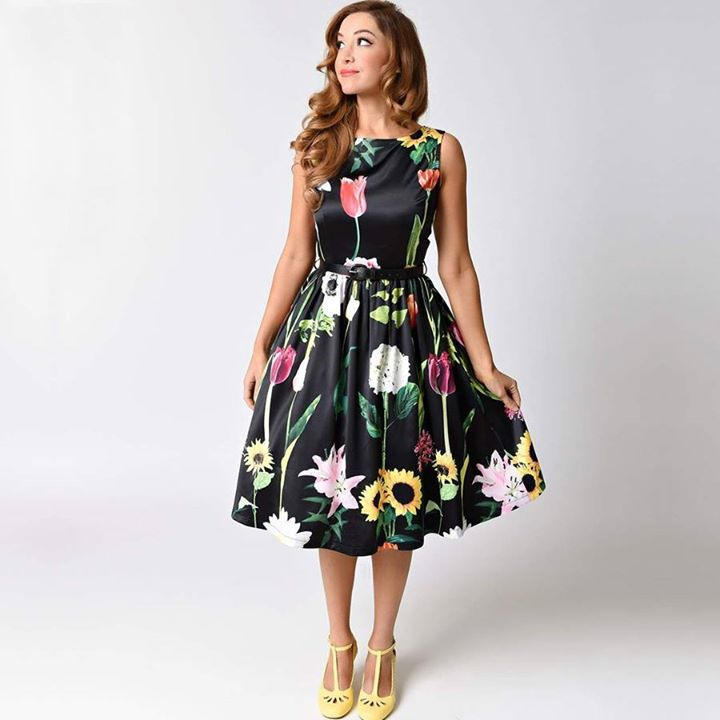 Vintage skater φόρεμα!