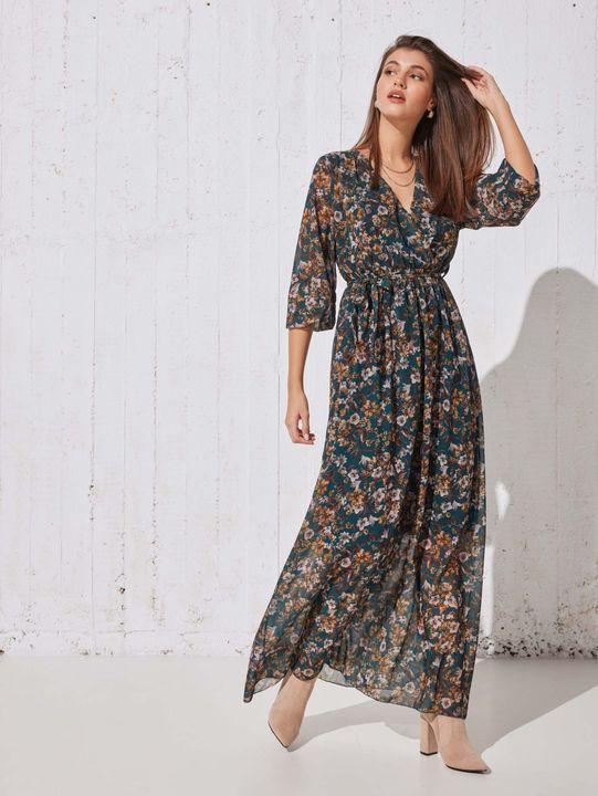 Κρουαζέ φλοράλ φόρεμα!