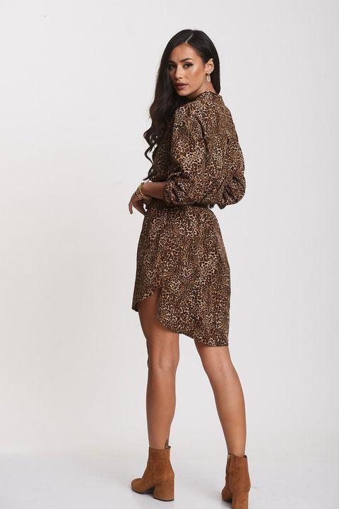 Leopard shirtdress!