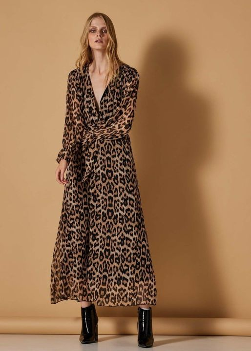 Leopard maxi φόρεμα!