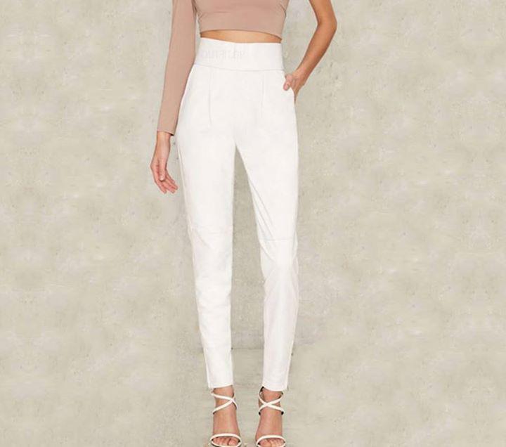 Λευκό pencil παντελόνι!
