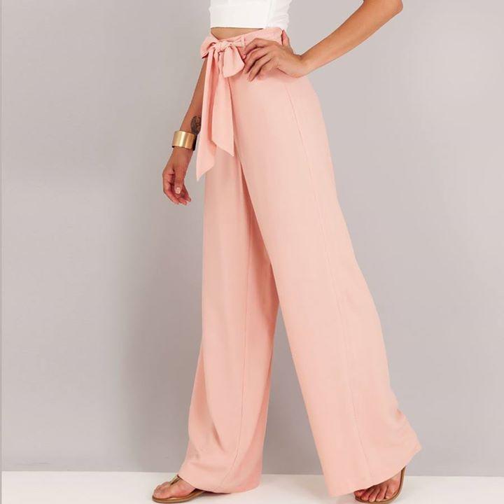 Ροζ ψηλόμεση παντελόνα!