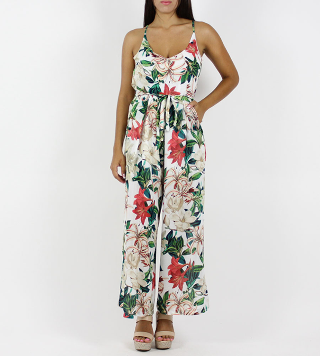Floral ολόσωμη φόρμα!