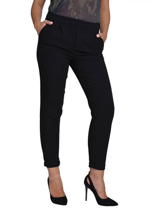 Μαύρο κλασικό παντελόνι!